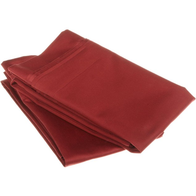 1000-Thread Count Solid Egyptian Cotton Pillowcase Set