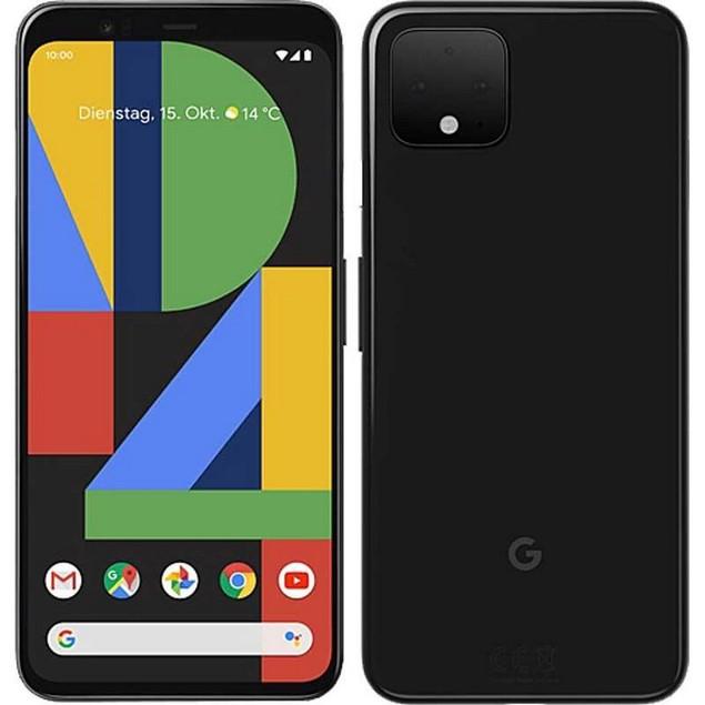 Google Pixel 4, Unlocked, Grade B-, Black, 64 GB, 5.7 in Screen