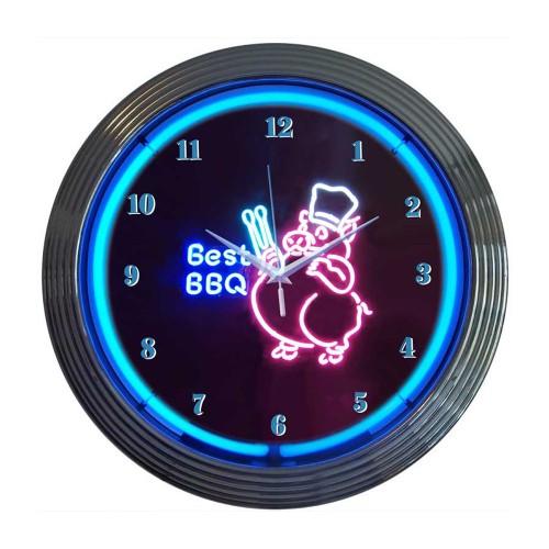 Neonetics Bowling Neon Clock