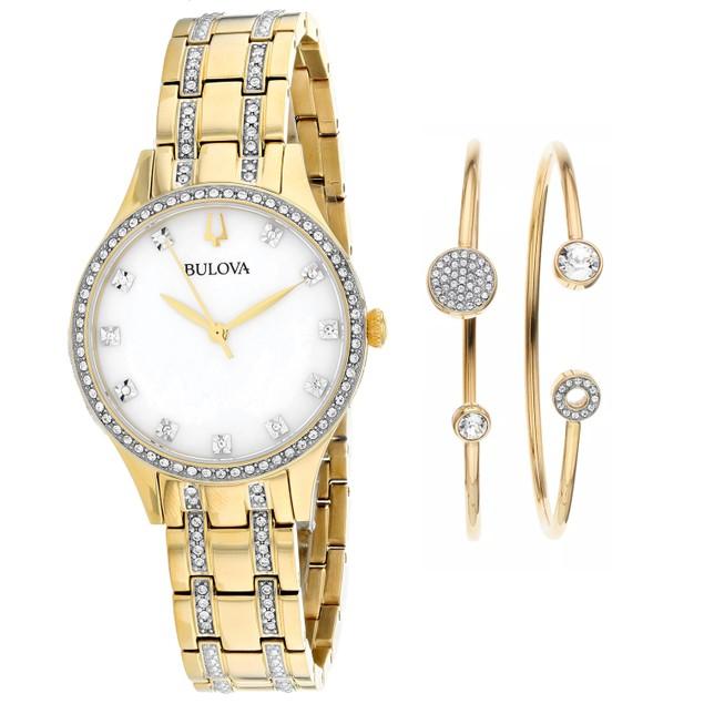Bulova Women's Classic Pearl Dial Watch - 98X119