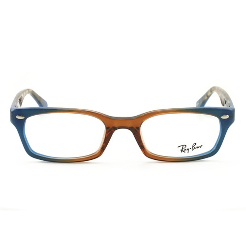 Ray Ban Women's Eyeglasses RX5150 5488 Brown/Blue 50 19 135 Demo Lens