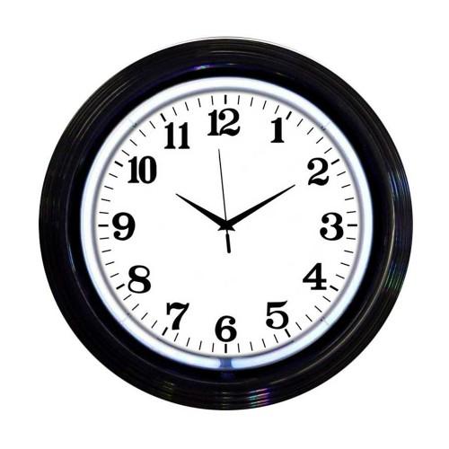 Neonetics Billiards 1, 8, 9 Neon Clock