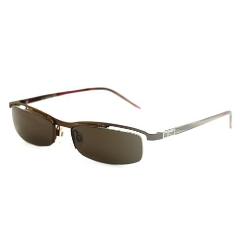 Just Cavalli Men's Sunglasses JC0054 734 Brown 54 17 135 Semi-Rimless Oval
