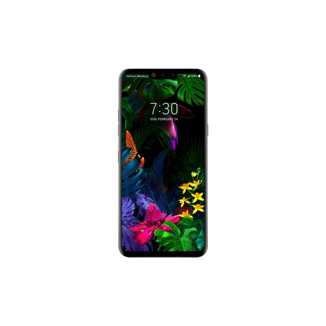 LG G8 ThinQ, AT&T, Gray, 128 GB, 6.1 in Screen