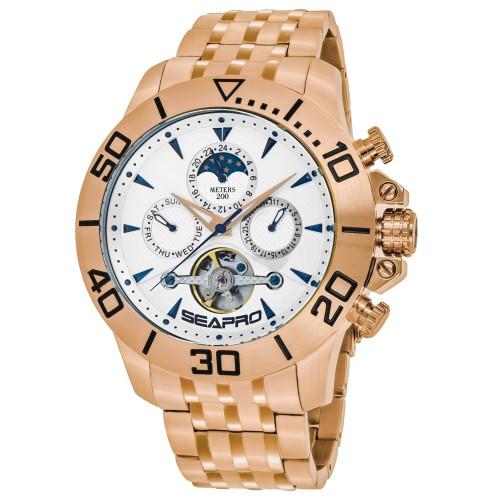 Seapro Men's Montecillo Silver dial watch - SP5135