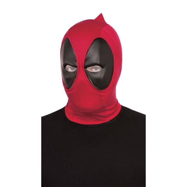 Deadpool Deluxe Adult Fabric Overhead Mask Licensed Muscle Merc Wade Marvel