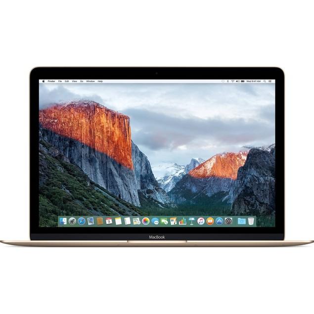 "Apple MacBook MLHE2LL/A 12"" 256GB macOS 10.12,Gold(Refurbished)"