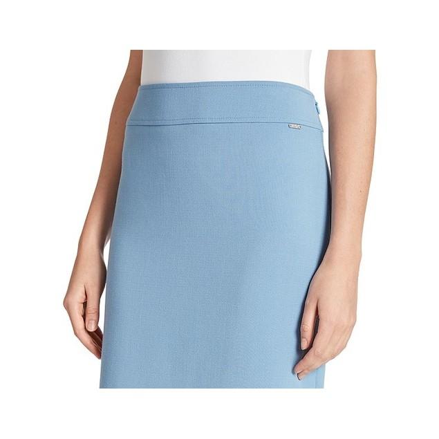 Tahari ASL Women's Pencil Skirt Med Blue Size 8