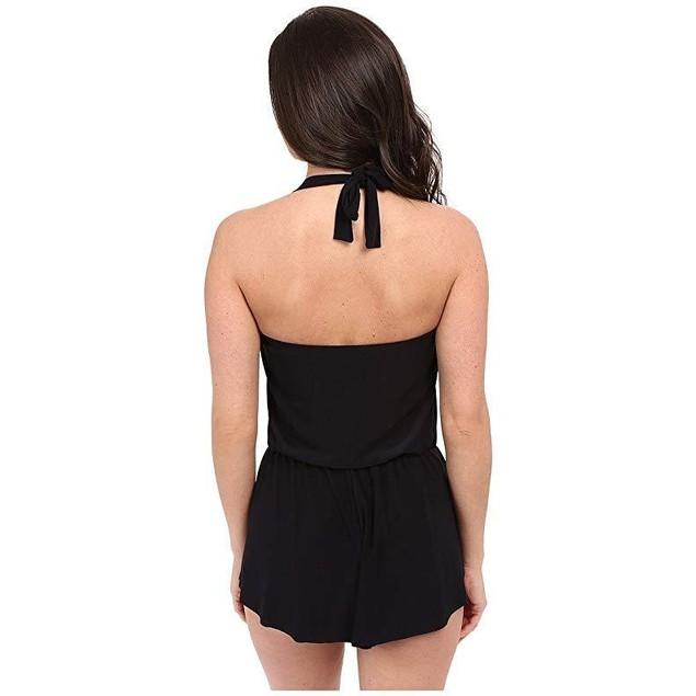 Magic Suit Magicsuit Women's Solids One-Piece Romy Romper Black Swimsu