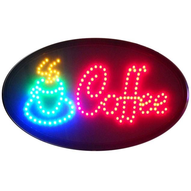 Neonetics Popcorn LED Sign