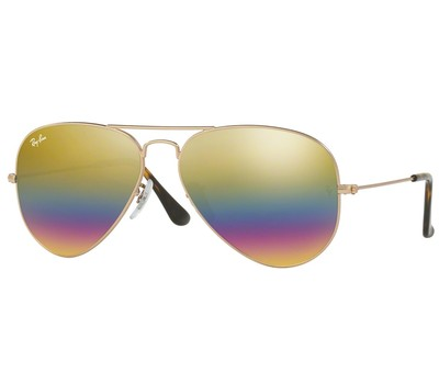 Ray-Ban Aviator Sunglasses RB3025-9020C4-62 Was: $178 Now: $89.99.