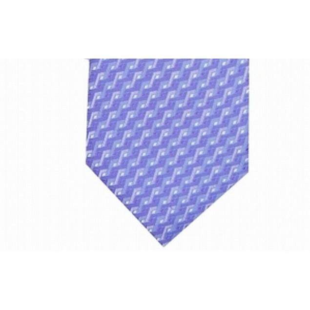 Alfani Men's Geometric Tie Purple Size Regular