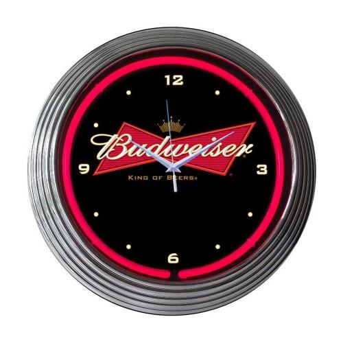 Neonetics Cadillac Service Neon Clock