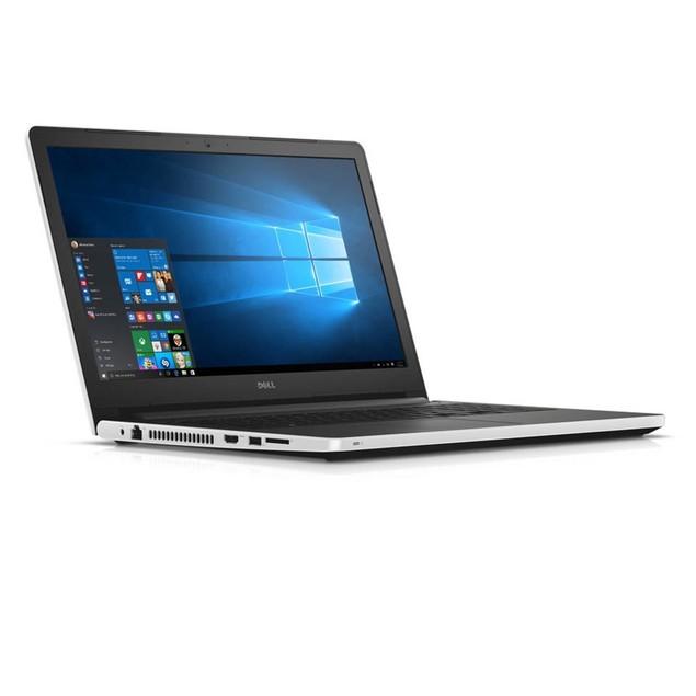 """Dell Inspiron i5555-0013WHT 15.6"""" 1TB AMD E2-7110 Win10,White"""