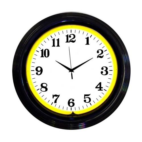 Neonetics Billiard Ball Green Neon Clock