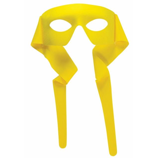 Yellow Eye Mask With Ties