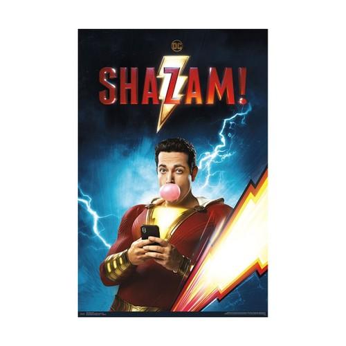 Shazam Chill Poster