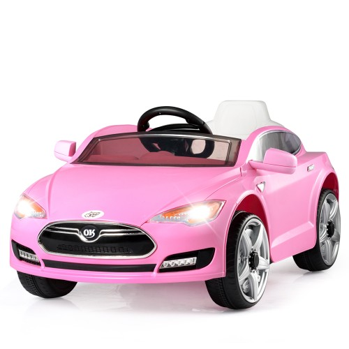 6V Kids Ride On Car w/ Parent Control MP3 Music LED Lights Horn 3 Speeds