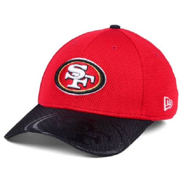 San Francisco 49ers NFL New Era 39Thirty Sideline Stretch Fitted Hat