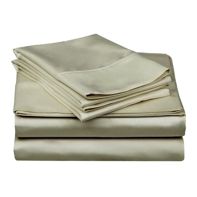 Soft Sheet Set With Deep Pocket, Cotton Rich