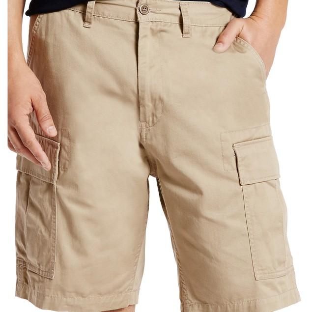 Levi's Men's Carrier Loose-Fit Cargo Shorts Beige Size 30