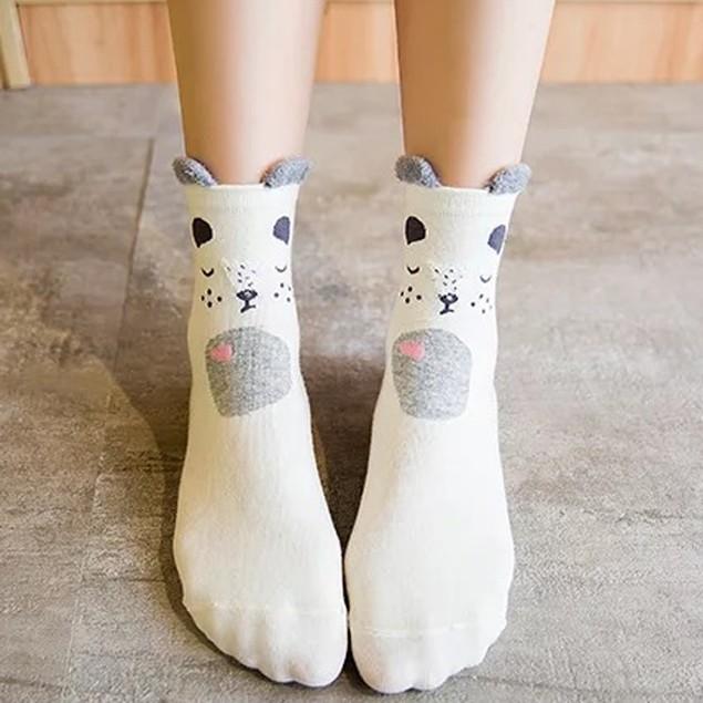 Set 3D Socks Cat 5 Pack