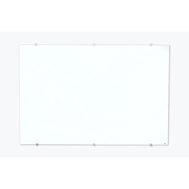 """Luxor Home Office 60""""W x 40""""H Durable Magnetic Wall-Mounted Glass Board"""