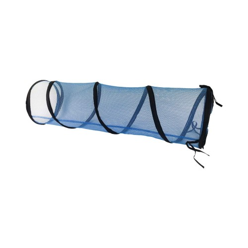Midlee Mesh Outdoor Cat Tunnel- Blue
