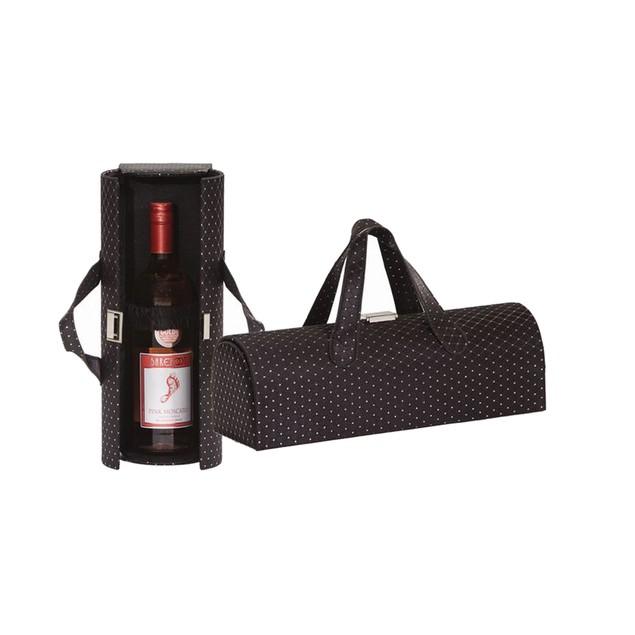 Picnic Plus Carlotta Clutch Wine Bottle Clutch Black Diamond