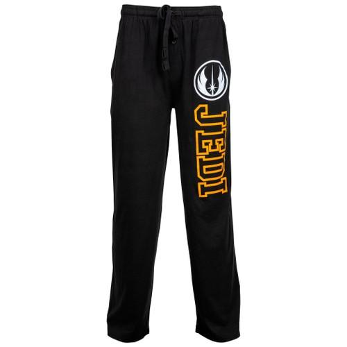 Star Wars Jedi Symbol and Text Unisex Sleep Pants