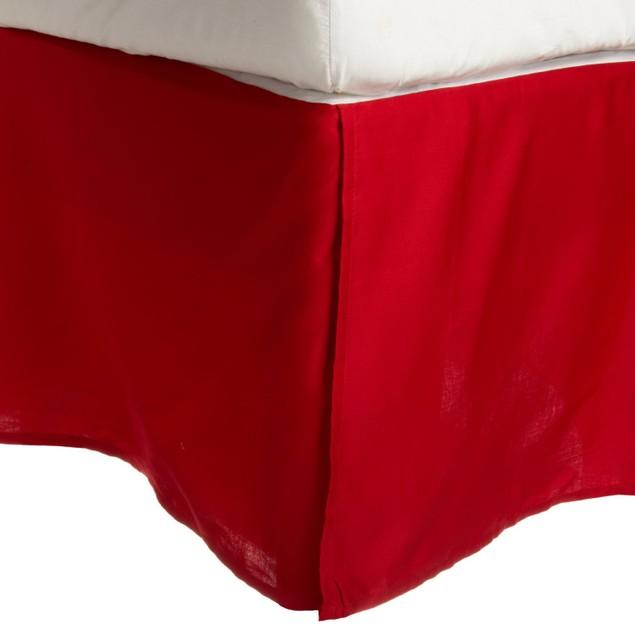 "Bed Skirt 15"" Drop, 300-Thread Count Dust Ruffle"