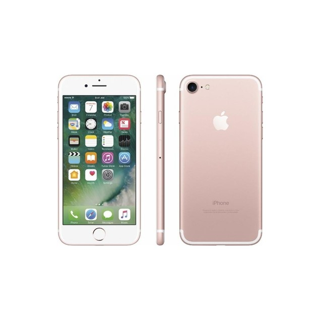 Apple iPhone 7 32GB AT&T Locked, Rose Gold (Refurbished)