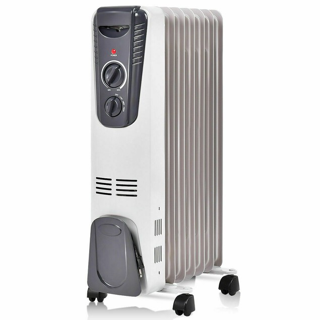1500W Electric Oil Filled Radiator Space Heater