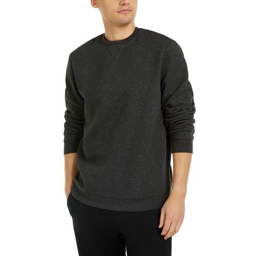 Ideology Men's Fleece Sweatshirt Medium Gray Size Extra Large