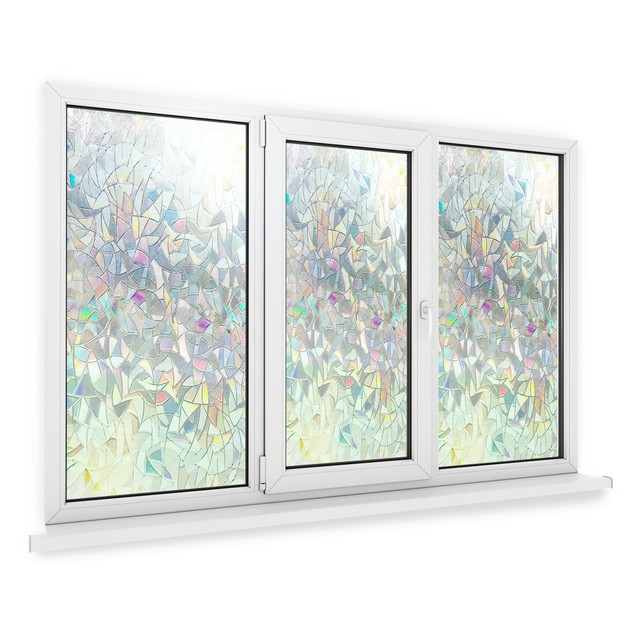 3D Glass Privacy Window Film | Pukkr 44cmx200cm