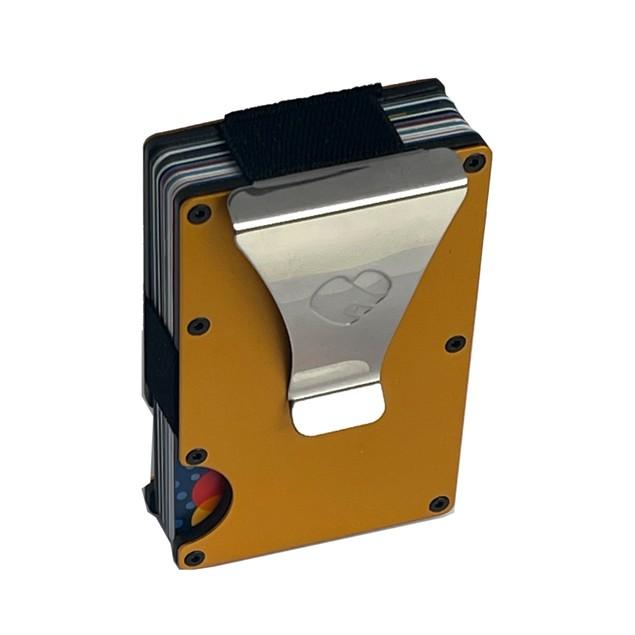 RFID Blocking Minimalist Aluminum Slim Wallet