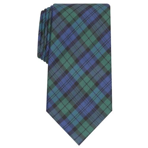Club Room Men's Black Watch Tie  Navy Size Regular