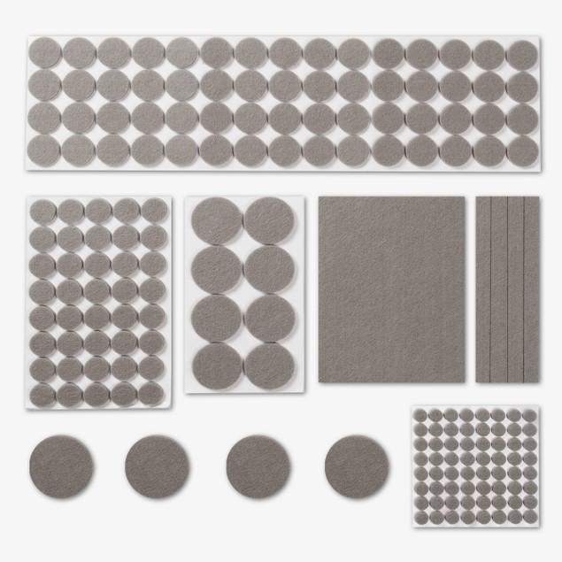 Felt Furniture Protector Pads | Pukkr Grey