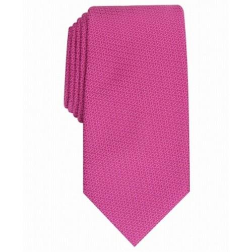 Perry Ellis Men's Starlite Neat Tie Purple Size Regular