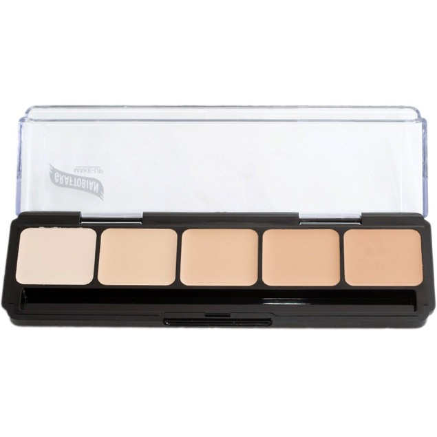 Cool Palette #1 HD Glamour Creme Foundation Palette