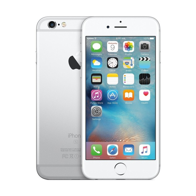 """Apple iPhone MN1G2LL/A-C 32GB 4.7"""" GSM Unlocked,Silver (Scratch and Dent)"""