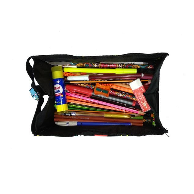 Smilykiddos Tray Pencil Case Black
