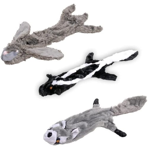 Jeffers Pet Thinnies Unstuffed Dog Toys, 3 Pack