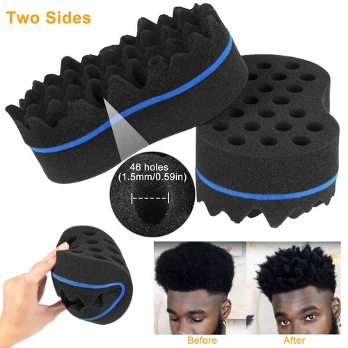 Double Sided Barber Sponge Hair Brush Comb