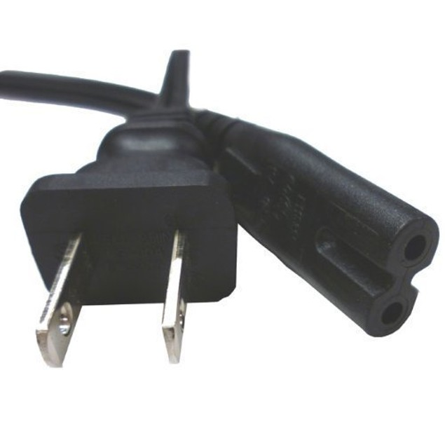2 Prong Laptop Power Cable AC Cord Figure 8