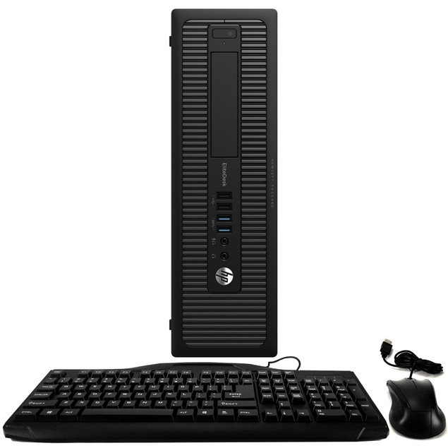 HP 800G1 Desktop Intel i5 16GB 320GB HDD Windows 10 Home