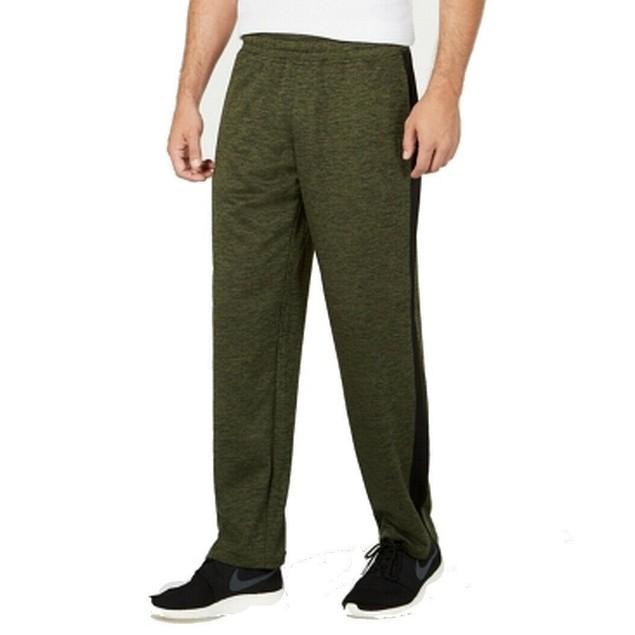 Ideology Men's Track Pants Green Size XXX-Large