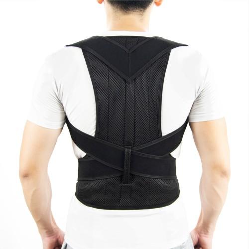 Posture Corrector Comfy Back Support Brace Adjustable Straightener Lumbar Belt