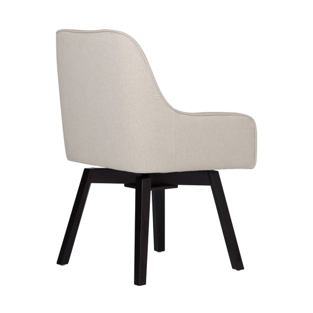 Studio Designs Office Woven Webbing Seat Spire Swivel Chair - Sand