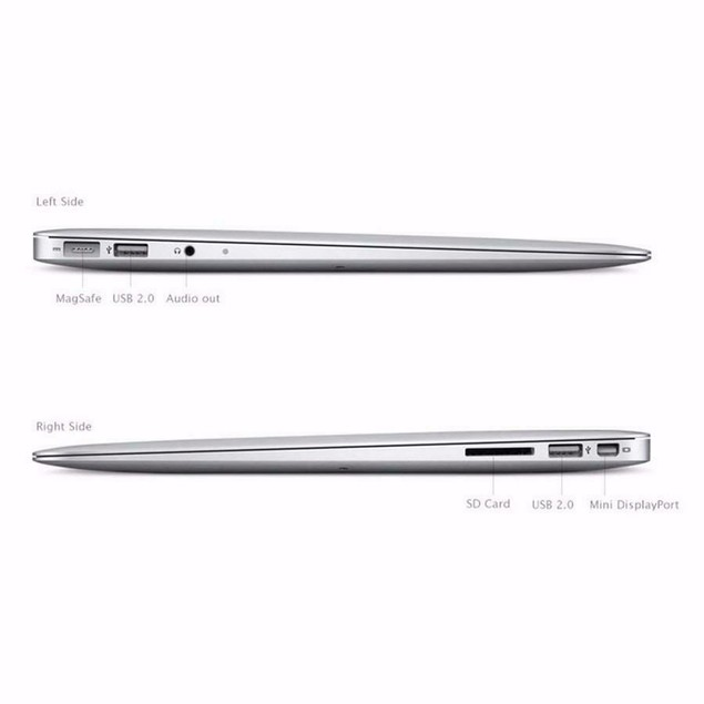 "Apple MacBook Air Laptop Core i5 1.8GHz 4GB RAM 256GB SSD 13"" - MC966LL/A (2011)"